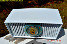 Load image into Gallery viewer, SOLD! - May 10, 2016 - ALPINE WHITE Mid Century Retro Antique 1952 Airline Model BR-1558B Tube AM Radio Works! , Vintage Radio - Airline, Retro Radio Farm  - 6