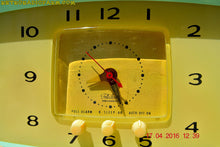 Load image into Gallery viewer, MINT GREEN Retro Mid Century 1955 Westinghouse Model H-548T5 AM Tube Radio Alarm Clock Totally Restored! , Vintage Radio - Westinghouse, Retro Radio Farm  - 13