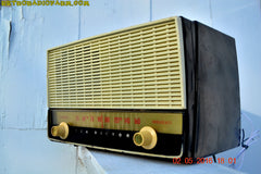 BLUETOOTH MP3 READY - Black and White Retro Jetsons Vintage 1954 RCA Victor Model X212 AM Tube Radio Works Great! , Vintage Radio - RCA Victor, Retro Radio Farm  - 6