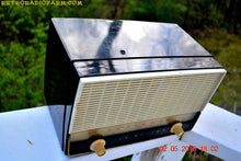 Load image into Gallery viewer, BLUETOOTH MP3 READY - Black and White Retro Jetsons Vintage 1954 RCA Victor Model X212 AM Tube Radio Works Great! , Vintage Radio - RCA Victor, Retro Radio Farm  - 4