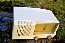 Load image into Gallery viewer, BLUETOOTH MP3 READY - Antique Ivory Mid Century Retro Vintage 1950 General Electric Model 414 AM Tube Radio Totally Restored! , Vintage Radio - General Electric, Retro Radio Farm  - 6