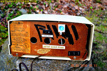 Load image into Gallery viewer, BLUETOOTH MP3 READY - Antique Ivory Mid Century Retro Vintage 1950 General Electric Model 414 AM Tube Radio Totally Restored! , Vintage Radio - General Electric, Retro Radio Farm  - 11