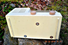 Load image into Gallery viewer, BLUETOOTH MP3 READY - Antique Ivory Mid Century Retro Vintage 1950 General Electric Model 414 AM Tube Radio Totally Restored! , Vintage Radio - General Electric, Retro Radio Farm  - 10