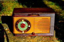 Load image into Gallery viewer, SOLD! - May 24, 2016 - BLUETOOTH MP3 READY - Art Deco 1952 General Electric Model 66 AM Brown Bakelite Tube Clock Radio Totally Restored! , Vintage Radio - General Electric, Retro Radio Farm  - 2
