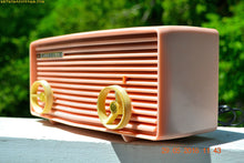 Load image into Gallery viewer, BLUETOOTH MP3 READY - Princess Pink Retro Jetsons 1959 Motorola Model 57R Tube AM Clock Radio Totally Restored! , Vintage Radio - Motorola, Retro Radio Farm  - 4