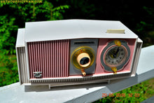 Load image into Gallery viewer, SOLD! - May 30, 2016 - BLUETOOTH MP3 READY - Cotton Candy Pink Retro Jetsons 1963 Motorola Model C19P23 Tube AM Clock Radio Totally Restored! , Vintage Radio - Motorola, Retro Radio Farm  - 5