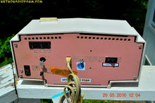 Load image into Gallery viewer, SOLD! - May 30, 2016 - BLUETOOTH MP3 READY - Cotton Candy Pink Retro Jetsons 1963 Motorola Model C19P23 Tube AM Clock Radio Totally Restored! , Vintage Radio - Motorola, Retro Radio Farm  - 10