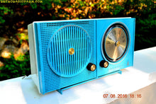 Load image into Gallery viewer, SOLD! - Sept 1, 2016 - BLUETOOTH MP3 READY - Sky Blue Beauty Mid Century Retro 1962 Motorola Model A23B Tube AM Radio Totally Restored! - [product_type} - Motorola - Retro Radio Farm