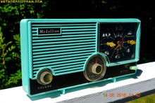 Load image into Gallery viewer, SOLD! - Jan 25, 2017 - LAGUNA AQUA Mid Century Vintage 1959 Medallion Model 5583 Tube Radio Probably Only One In Existence! - [product_type} - Medallion - Retro Radio Farm