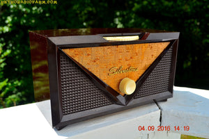 SOLD! - Oct 16, 2016 - ROCKABILLY Retro Vintage 1954 Silvertone Model 3001 AM Tube Radio Works Great! - [product_type} - Silvertone - Retro Radio Farm