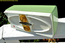 Load image into Gallery viewer, SOLD! - Jan 22, 2017 - COOL MINT Green 1959 Truetone Western Auto Model DC 2052A AM Tube Radio - [product_type} - Truetone - Retro Radio Farm