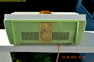 SOLD! - Jan 22, 2017 - COOL MINT Green 1959 Truetone Western Auto Model DC 2052A AM Tube Radio - [product_type} - Truetone - Retro Radio Farm