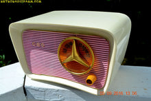 Load image into Gallery viewer, SOLD! - Oct 15, 2016 - SO JETSONS LOOKING Retro Vintage Pink and Black 1959 CBS Model 2160 AM Tube Radio So Cute! - [product_type} - Travler - Retro Radio Farm