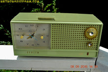 Load image into Gallery viewer, SOLD! - June 15, 2017 - AVOCADO Mid Century Retro Jetsons Vintage 1962 Zenith H519F AM Tube Clock Radio Works Great! - [product_type} - Zenith - Retro Radio Farm