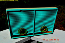 Load image into Gallery viewer, SOLD! - Dec 10. 2017 - TURQUOISE Twin Speaker Retro Vintage 1959 Philco Model J-845-124 AM Tube Radio Totally Restored! - [product_type} - Philco - Retro Radio Farm
