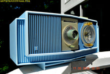Load image into Gallery viewer, SOLD! - Sept 17, 2016 - BLUE on Blue Mid Century Retro 1963 Motorola Model C19B60 Tube AM Clock Radio Totally Restored! - [product_type} - Motorola - Retro Radio Farm