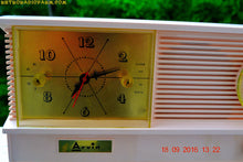Load image into Gallery viewer, SOLD! - Sept 26, 2016 - POWDER PINK Vintage Antique Mid Century 1961 Arvin Model 51R23 Tube AM Clock Radio Restored and Rare! - [product_type} - Arvin - Retro Radio Farm