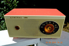 Load image into Gallery viewer, SOLD! - Jan 25, 2017 - CORAL PINK and White Mid Century Retro 1959 Admiral Model 3012A Tube AM Radio Totally Restored! - [product_type} - Admiral - Retro Radio Farm