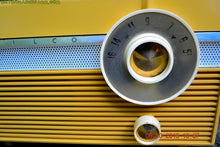 Load image into Gallery viewer, SOLD! - July 30, 2017 - MAIZE YELLOW Mid Century Jet Age Retro 1959 Philco Model E-812-124 Tube AM Radio Totally Awesome!! - [product_type} - Philco - Retro Radio Farm