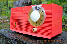 Load image into Gallery viewer, SOLD! - May 31, 2019 - Coral Pink Mid Century Retro Antique 1958 Philco Model F815-124 Tube AM Radio Totally Restored! - [product_type} - Philco - Retro Radio Farm