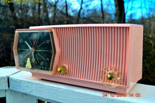 Load image into Gallery viewer, SOLD! - Dec. 8, 2016 - PRINCESS PINK Mid Century Retro RCA Victor C-51F Clock Radio 1959 Tube AM Clock Radio Sounds Great! - [product_type} - RCA Victor - Retro Radio Farm