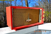 Load image into Gallery viewer, SOLD! - July 13, 2017 - UGLORGEOUS™ Hot Pink Mid Century Retro Vintage 1957 Silvertone 7012 AM Tube Radio Totally Restored! - [product_type} - Silvertone - Retro Radio Farm