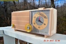 Load image into Gallery viewer, SOLD! - Dec 15, 2017 - ROSE PINK Mid Century Vintage Retro Antique 1962 RCA Victor Model RGD20R Tube AM Clock Radio Sounds Great! - [product_type} - RCA Victor - Retro Radio Farm