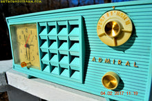 Load image into Gallery viewer, SOLD! - Feb 8, 2017 - BLUETOOTH MP3 READY - Pistachio Green Antique Mid Century Vintage 1955 Admiral 251 AM Tube Radio Totally Restored! - [product_type} - Admiral - Retro Radio Farm