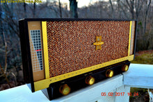 Load image into Gallery viewer, SOLD! - Feb 8, 2017 - BLUETOOTH MP3 READY - BROWN DELUXE Mid Century Retro Antique Vintage 1957 Silvertone Model 11 AM Tube Radio Totally Restored! - [product_type} - Silvertone - Retro Radio Farm