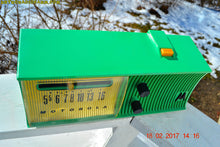Load image into Gallery viewer, SOLD! - Feb 11, 2019 - Sea Green Mid Century Retro Jetsons 1957 Motorola 57H Tube AM Radio Excellent Condition! - [product_type} - Motorola - Retro Radio Farm