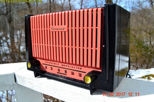 Load image into Gallery viewer, SOLD! - Apr 6, 2017 - FM ONLY Black and Pink Retro Jetsons 1955 Granco Model 620 FM Tube Radio Sounds Great! - [product_type} - Granco - Retro Radio Farm