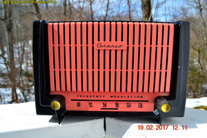 SOLD! - Apr 6, 2017 - FM ONLY Black and Pink Retro Jetsons 1955 Granco Model 620 FM Tube Radio Sounds Great! - [product_type} - Granco - Retro Radio Farm