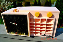 Load image into Gallery viewer, Powder Pink MONSTROSITY Retro Jetsons 1957 Arvin 5561 Tube AM Clock Radio Totally Restored! , Vintage Radio - Arvin, Retro Radio Farm  - 3