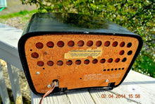 Load image into Gallery viewer, SOLD ! - Oct. 23, 2014 - Retro Vintage PINK and BLACK Travler T-204 AM Tube Radio WORKS! - [product_type} - Travler - Retro Radio Farm