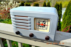 SOLD! - June 10, 2014 - BEAUTIFUL Rare Art Deco Retro 1941 Stromberg Carlson 500H AM Tube Radio Works! Wow! , Vintage Radio - Stromberg Carlson, Retro Radio Farm  - 3