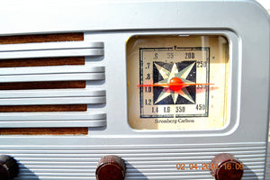 SOLD! - June 10, 2014 - BEAUTIFUL Rare Art Deco Retro 1941 Stromberg Carlson 500H AM Tube Radio Works! Wow! , Vintage Radio - Stromberg Carlson, Retro Radio Farm  - 7