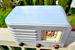 SOLD! - June 10, 2014 - BEAUTIFUL Rare Art Deco Retro 1941 Stromberg Carlson 500H AM Tube Radio Works! Wow! , Vintage Radio - Stromberg Carlson, Retro Radio Farm  - 8