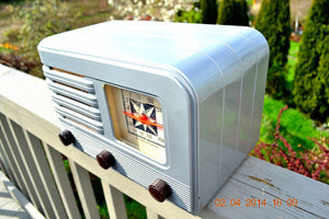 SOLD! - June 10, 2014 - BEAUTIFUL Rare Art Deco Retro 1941 Stromberg Carlson 500H AM Tube Radio Works! Wow! , Vintage Radio - Stromberg Carlson, Retro Radio Farm  - 9