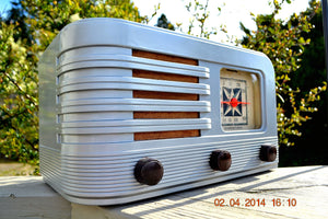 SOLD! - June 10, 2014 - BEAUTIFUL Rare Art Deco Retro 1941 Stromberg Carlson 500H AM Tube Radio Works! Wow! , Vintage Radio - Stromberg Carlson, Retro Radio Farm  - 1