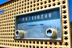 SOLD! - Dec 24, 2014 - SAHARA TAUPE Atomic Age Vintage 1957 General Electric T-166 Tube AM Radio WORKS! , Vintage Radio - General Electric, Retro Radio Farm  - 7