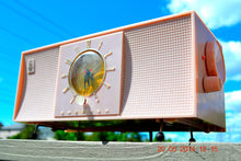Load image into Gallery viewer, SOLD! - April 8, 2015 - BREAKFAST AT TIFFANY's Retro 1956 Emerson 824 Tube AM Clock Radio Totally Restored! - [product_type} - Emerson - Retro Radio Farm