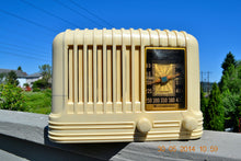 Load image into Gallery viewer, SOLD! - Oct 17, 2014 - BEAUTIFUL Art Deco 1940 Westinghouse WR-176 Plaskon AM Tube Radio Works! , Vintage Radio - Westinghouse, Retro Radio Farm  - 3