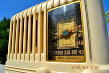 Load image into Gallery viewer, SOLD! - Oct 17, 2014 - BEAUTIFUL Art Deco 1940 Westinghouse WR-176 Plaskon AM Tube Radio Works! , Vintage Radio - Westinghouse, Retro Radio Farm  - 7