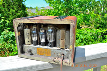 Load image into Gallery viewer, SOLD! - Sept 2, 2015 -BEAUTIFUL Wood Art Deco Retro 1935 Western Air Patrol 4G2T AM Tube Radio Totally Restored! Wow! , Vintage Radio - Western Air Patrol, Retro Radio Farm  - 12