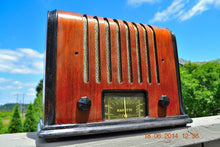 Load image into Gallery viewer, SOLD! - Sept 17, 2015 - BEAUTIFUL Wood Art Deco Retro 1930's or 40's Kadette Model 76 AM Tube Radio Totally Restored! Wow! , Vintage Radio - Admiral, Retro Radio Farm  - 4