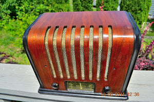 SOLD! - Sept 17, 2015 - BEAUTIFUL Wood Art Deco Retro 1930's or 40's Kadette Model 76 AM Tube Radio Totally Restored! Wow! , Vintage Radio - Admiral, Retro Radio Farm  - 7