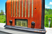 Load image into Gallery viewer, SOLD! - Sept 17, 2015 - BEAUTIFUL Wood Art Deco Retro 1930's or 40's Kadette Model 76 AM Tube Radio Totally Restored! Wow! , Vintage Radio - Admiral, Retro Radio Farm  - 5