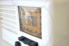 Load image into Gallery viewer, Carrera Gioia White 1939 Emerson Model CY269 AM Shortwave Vacuum Tube Radio Sounds Marvelous!