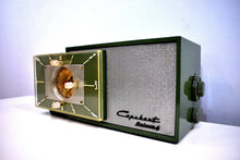 Load image into Gallery viewer, Avocado Green 1953 Capehart Farnsworth Model T-62 AM Vintage Vacuum Tube Radio Top Performer and Construction!
