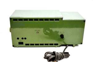 Avocado Green 1953 Capehart Farnsworth Model T-62 AM Vintage Vacuum Tube Radio Top Performer and Construction!